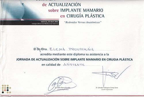 Breast implants 2002