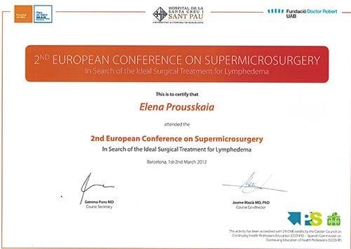 2nd supermicrosurgery